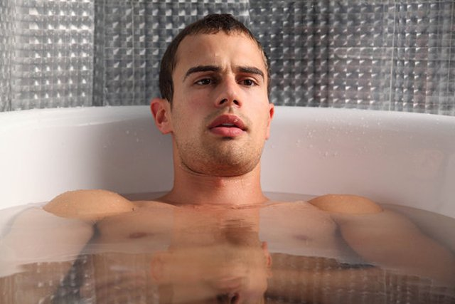 Theo James Shirtless Theo james may be shooting to