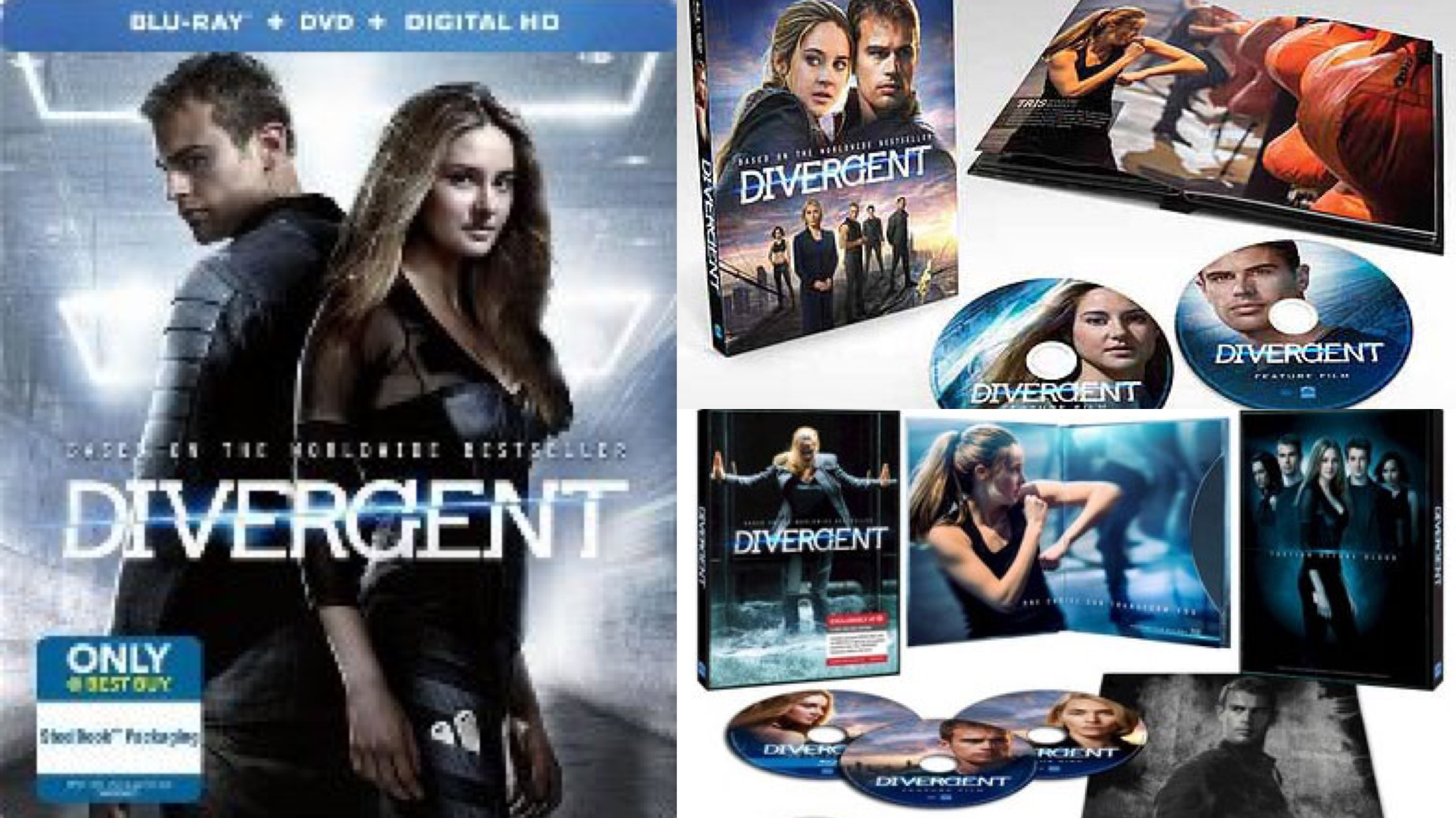 Guide: 'Divergent' Blu-ray Exclusive Releases From Retailers | F