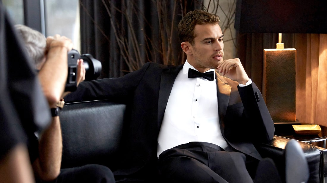 Ben noto Theo James' Hugo Boss Holiday Campaign QT68